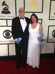Stephen Stubbs with wife Maxine Eilander at the GRAMMY Awards February 2015